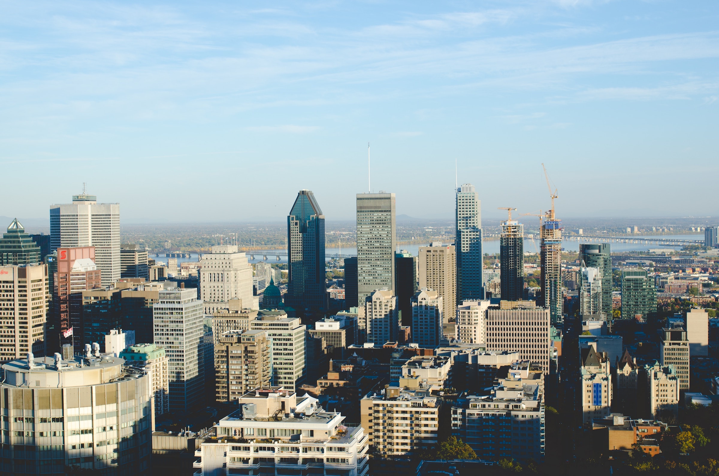 Montreal in daytime